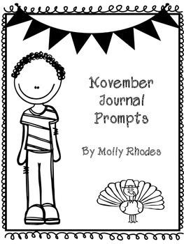 November Journal Prompts