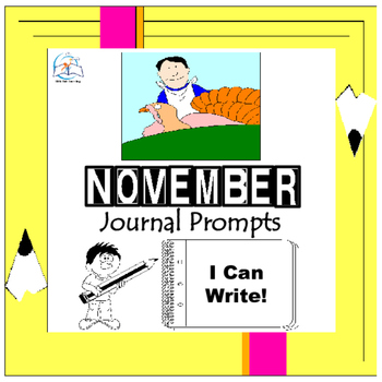 November Writing Prompts Quick Writes