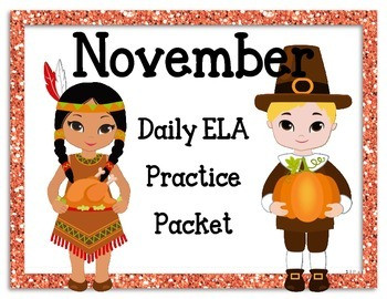 November Language Activities