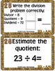 November Math Exit Tickets