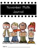 November Math Journal