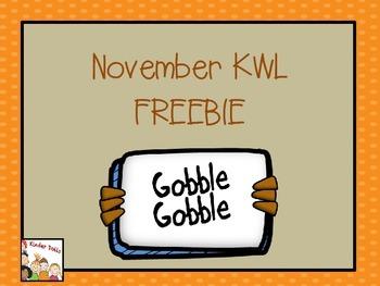 Thanksgiving Activity Freebie