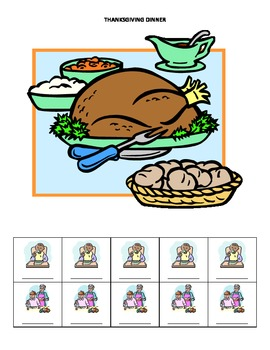 November Monthly Name Game for Articulation and Language: