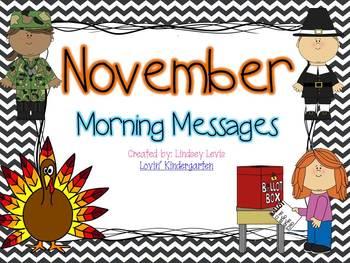 November Morning Messages Bundle