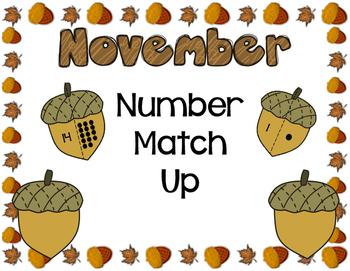 November Number Match Up