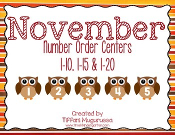 November Number Order Centers K.CC.A1