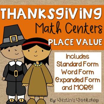 November Place Value Centers