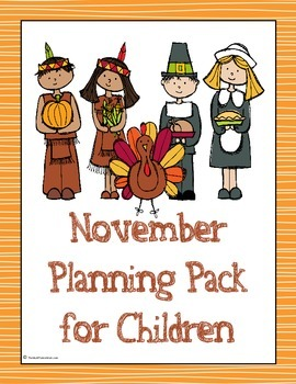 November Planning Pack for Children - 2014 Edition