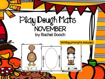 November Play Dough Mats