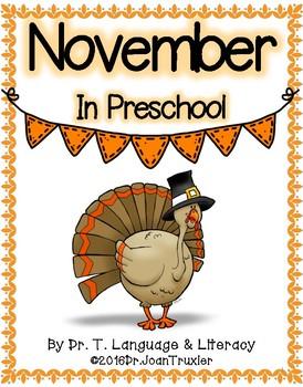 NOVEMBER (Preschool & Kindergarten)