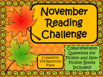 NO PREP November Reading Challenge!