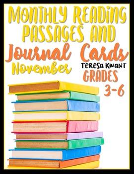 November Reading Passages