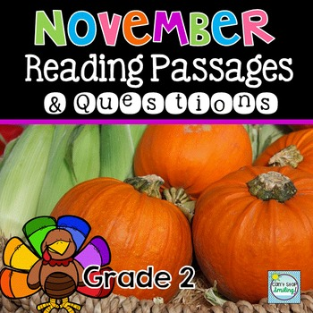 November Nonfiction Reading Passages ~ Finding Evidence ~