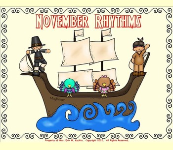 November Rhythm Fun - Exploring Duration of Sound (PPT Edition)