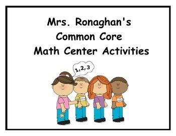 November Roll & Record: A Math Center