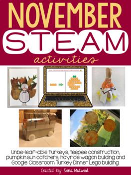 November STEAM Activities