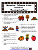 November Speech Theme Thanksgiving/Food 20 page packet