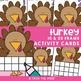 November Ten Frame Activity Cards