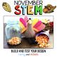 November Thanksgiving STEM Bundle