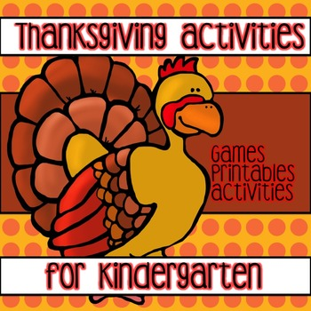 Winner Winner Turkey Dinner !!! Centers/Games/Printables