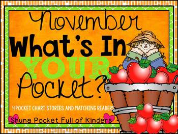 November What's In Your Pocket {Pocket Chart and Emergent