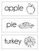 November Word Cards {November Vocabulary}