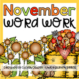 Word Work: November