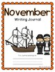 November Writing Journal- 20 Differentiated and NO PREP Wr