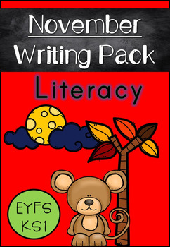 November Writing Pack for Emergent Readers and Writers