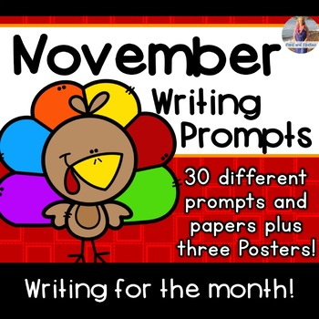 November Writing Prompts *30 prompts!*