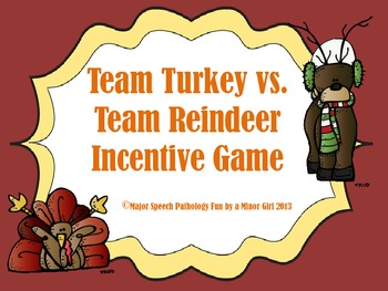 November/December Holiday Incentive Game