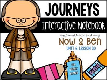 Now and Ben Unit 6, Lesson 30 Journeys Print & Go