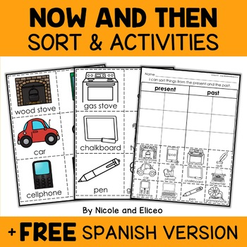 Interactive Now and Then Activities
