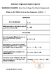 Nth Term of Arithmetic Sequence Graphic Organizer