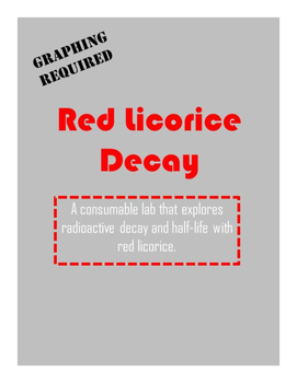 Nuclear Decay: Red Licorice Activity