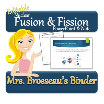 Nuclear Energy: Nuclear Fusion and Fission - PowerPoint an