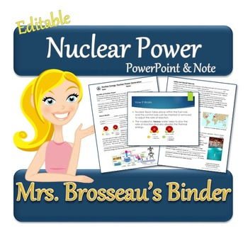 Nuclear Energy: Nuclear Power Generation - PowerPoint, Not