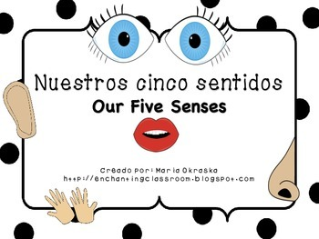 Nuestros cinco sentidos ~ Our Five Senses