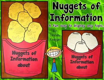 Nuggets of Information - Bulletin Board or Classroom Display