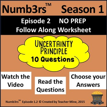 Numb3rs™  Season 1 Episode 4 Uncertainty Principle Follow-