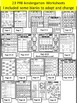 Number 13 Math Worksheets-NO PREP (PRE-KG EDITION)-Countin