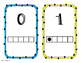 Five Frame Number Cards
