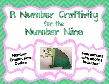 Number 9 Craftivity