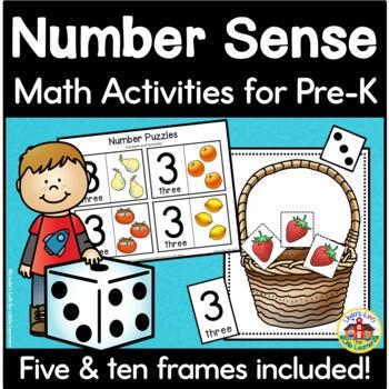 Number Sense Activities for Preschool