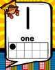 Number & Alphabet Posters with 10 Frames Numbers 0-20 (Sup