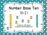 Number Base Ten Blocks 10-21