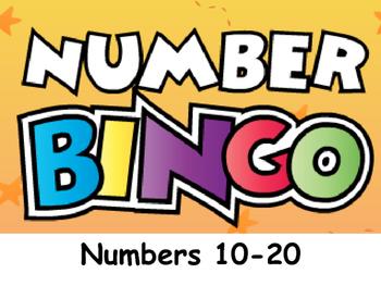 Number Bingo, #s 10-20