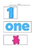 Number Boards for Numbers 1-10