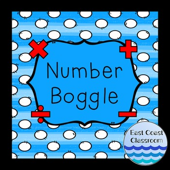Number Boggle Cards