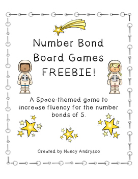 Number Bond Board Game FREEBIE